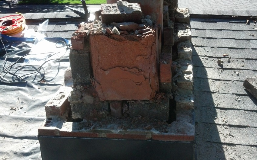Damaged Chimney 2